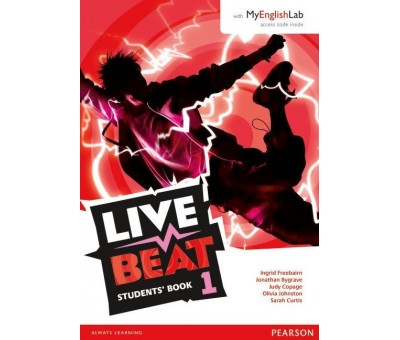 LİVE BEAT 1 (Student book+ Work book+ Mylab)